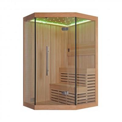 Phòng xông hơi khô dạng kính hiện đại