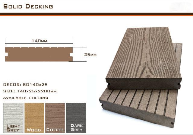 Sàn gỗ ngoài trời sd151x10【giá tốt】